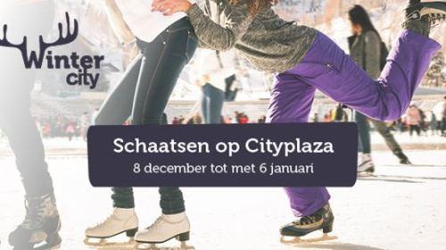Schaatsen op Cityplaza