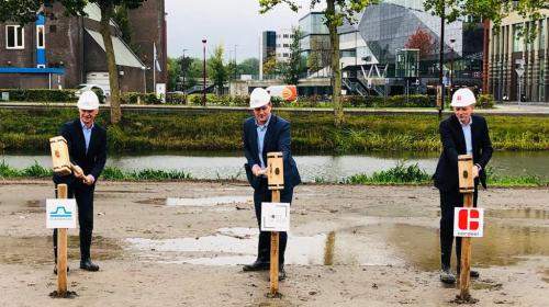 Bouw Point of View in Nieuwegein City van start