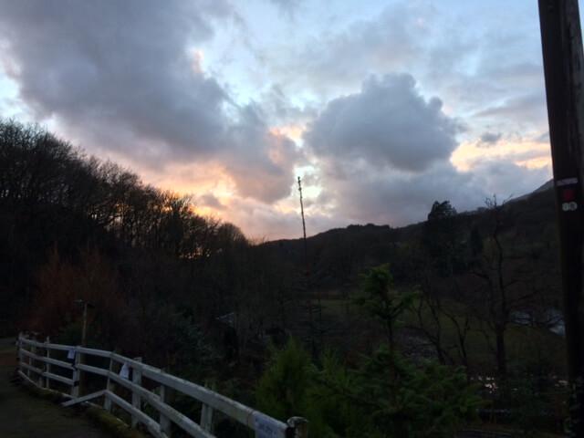 View looking towards Dolwyddelan...