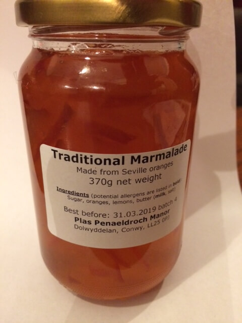 What can I say?  Surely every blog needs a photo of a jar of marmalade?!