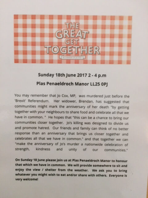 Your invitation to the Great Get Together
