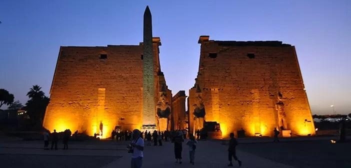 Como é visitar o Templo de Luxor