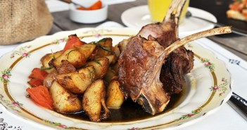 O restaurante da Posada CampoTinto
