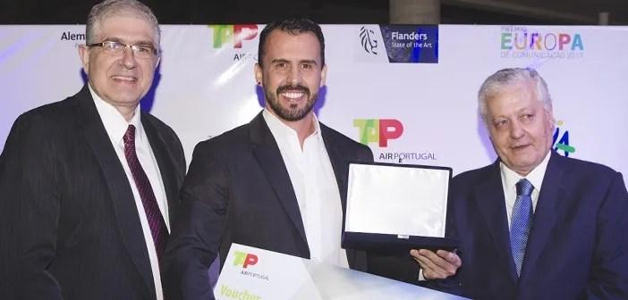 Somos primeiro no Prêmio Europa de Comunicação