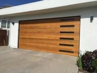 Emilio Modern Style Custom Wood Garage Door EMILIO by Pena