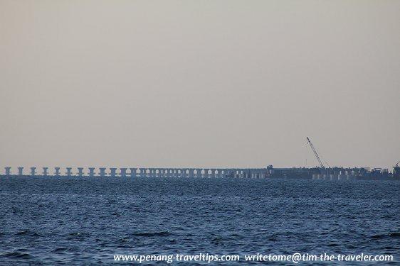 Piers of Second Penang Bridge