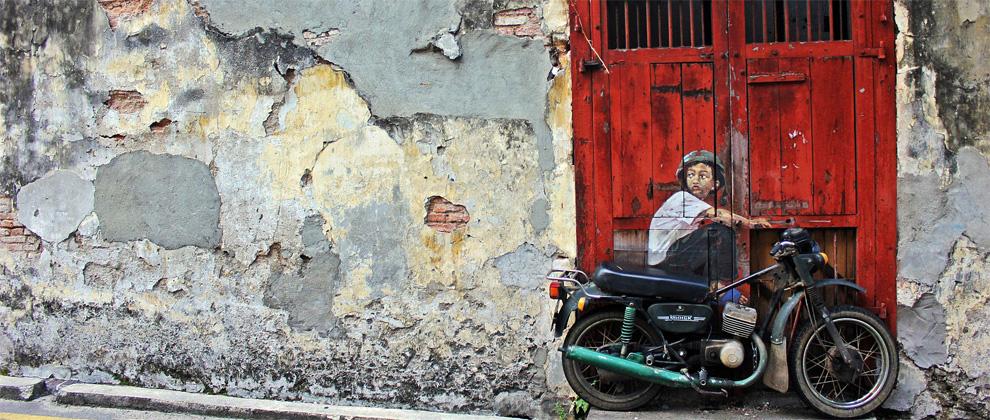 Street Art on Lebuh Ah Quee
