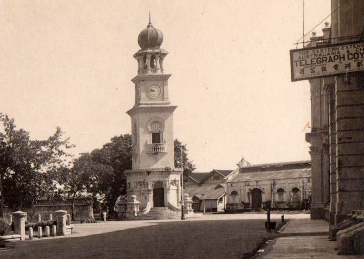 1920 Clock Tower from Beach Street