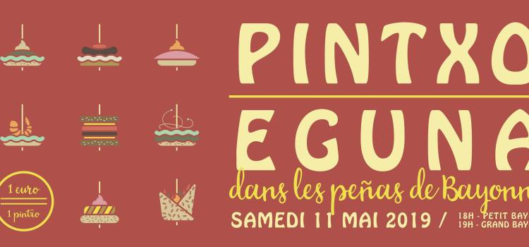 Pintxo Eguna 8ème édition – samedi 11 mai 2019