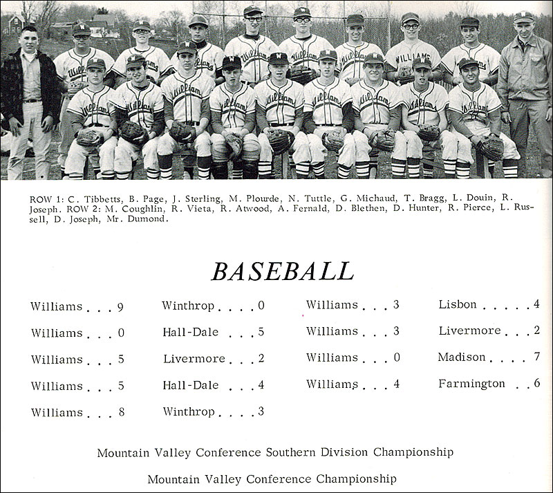 Maine high school baseball in the 1960s: It was a