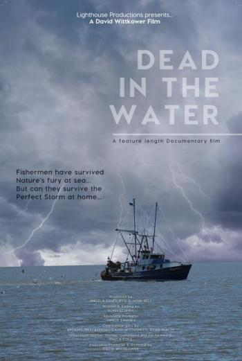 Dead in the Water Poster about commercial fishing