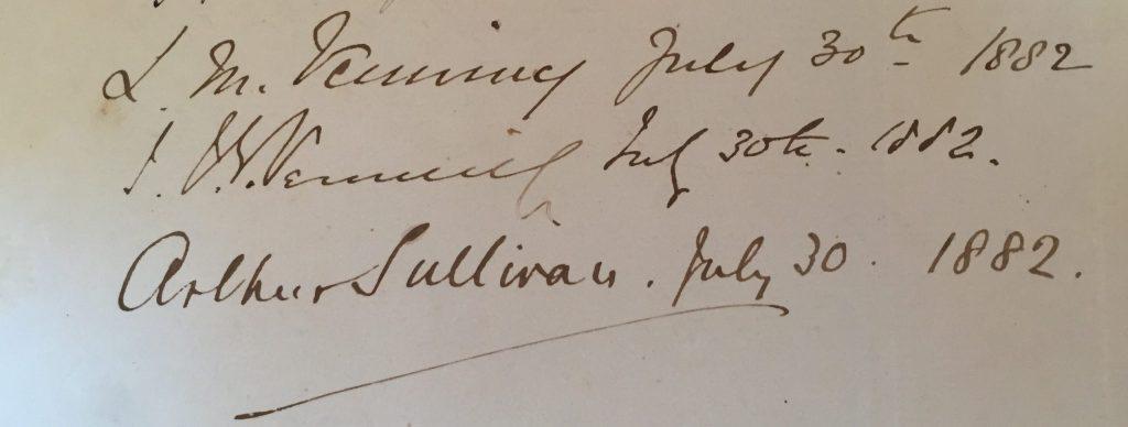 Sullivan's Signature close up