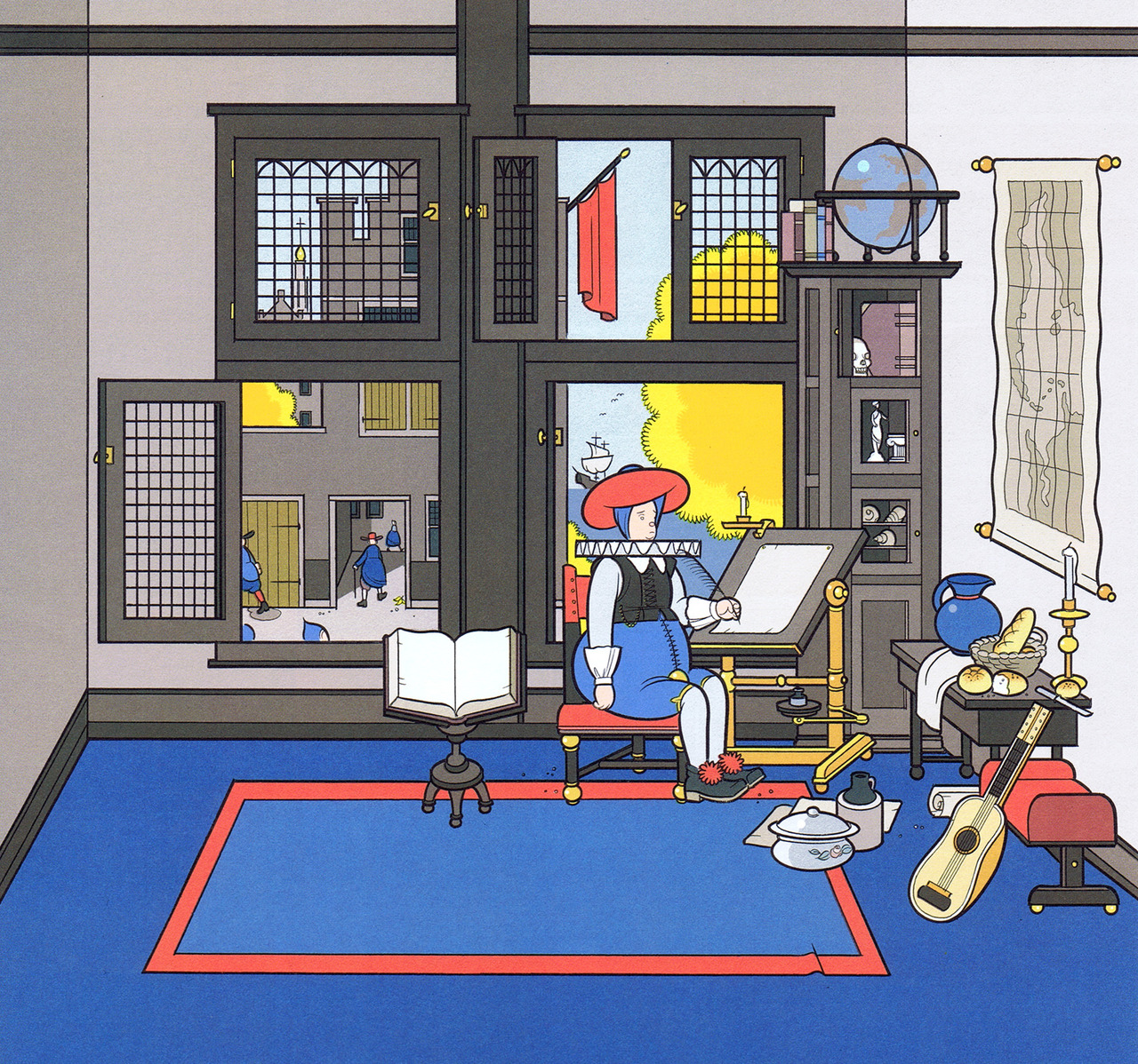 penccil    The Art of Chris Ware