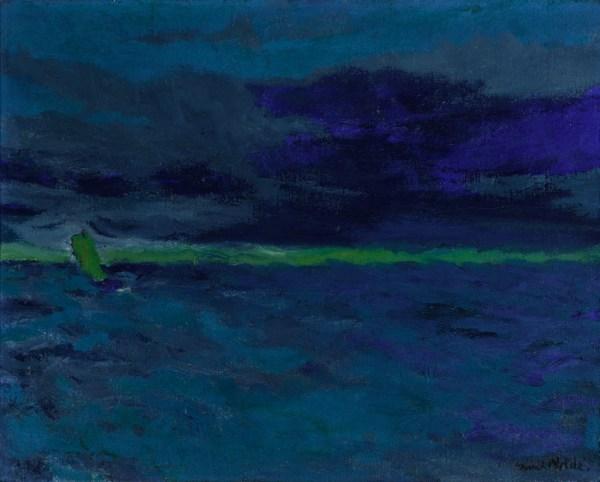 Penccil Sea Emil Nolde