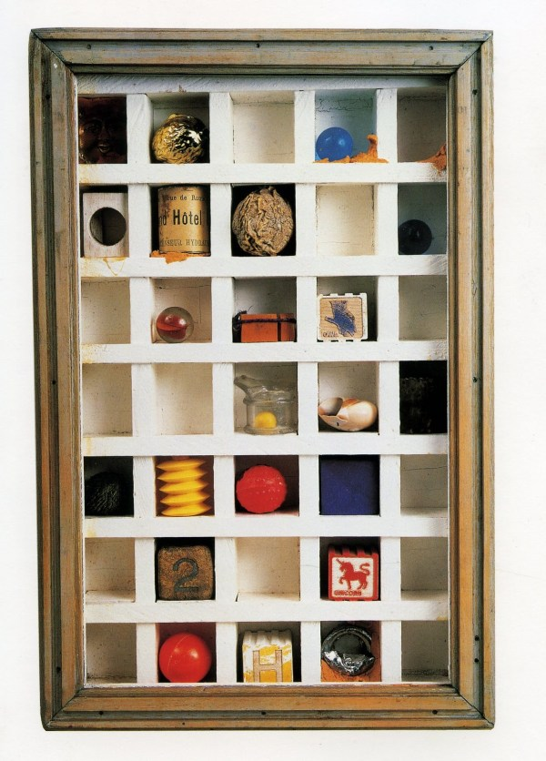 Penccil Collages And Boxes Joseph Cornell