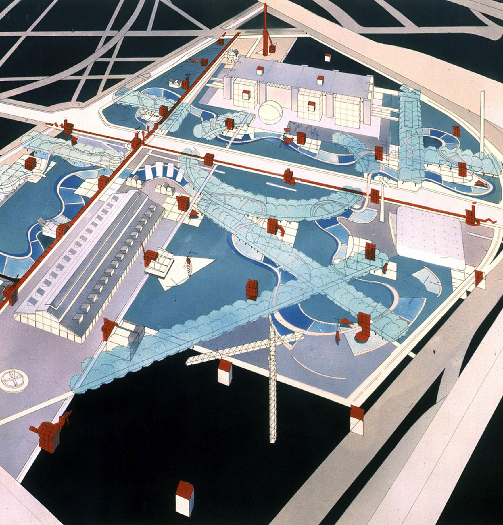 oma parc de la villette diagram bpmn conversation penccil paris
