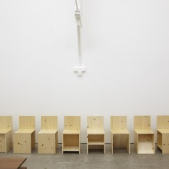 Steel Chair Joints Hanging Perth Penccil : Donald Judd: Sculptures