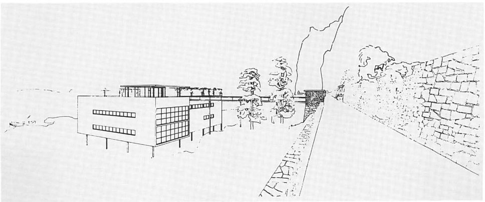 Ludwig Mies van der Rohe, German pavilion for the