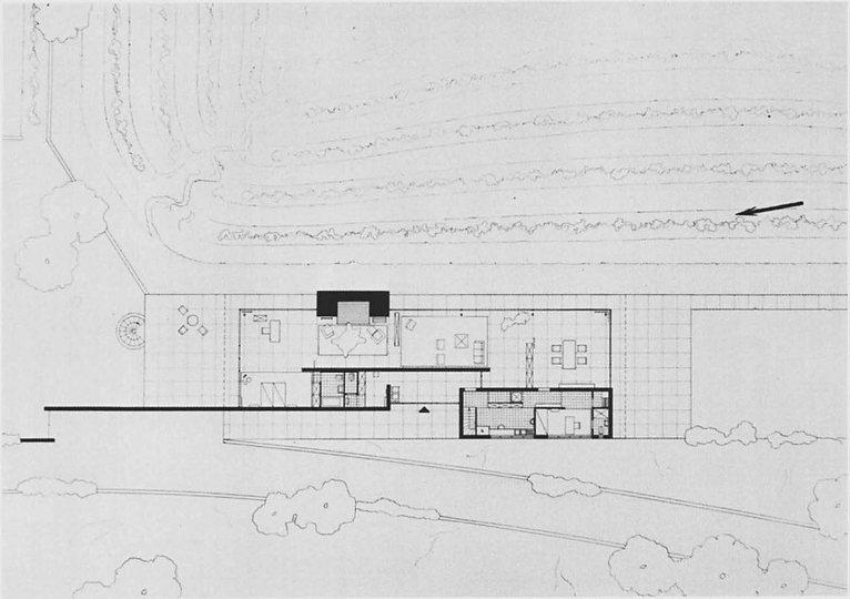 Wilhelm Heß, Plan of a studio apartment in the Junkers