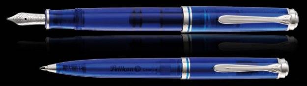 Pelikan Souveran 605 Marine Blue -  Fountain Pen & Ballpoint Pen