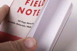 Field Notes Workshop Companion Closeup