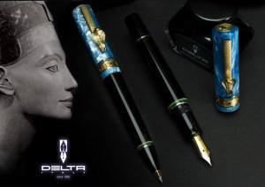 Delta Nefertiti Fountain Pens