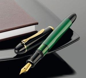Special Edition Pelikan M120 Green-Black Fountain Pen