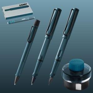 Lamy Safari Petrol Pen Collection