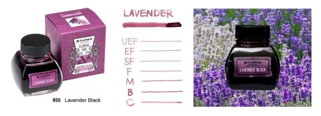 Platinum Classic Ink Lavender Black