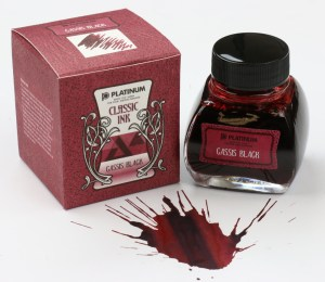 Platinum Cassis Black Ink Bottle
