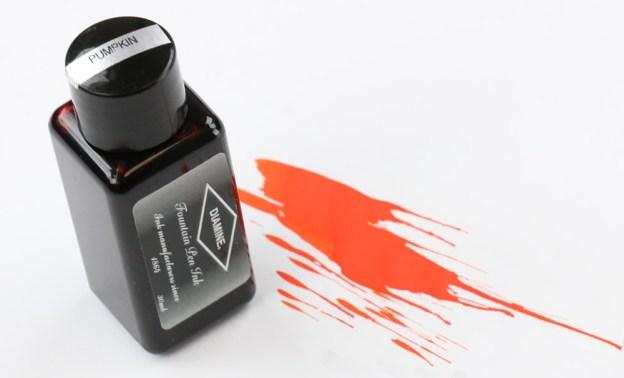 Diamine Pumpkin Ink Bottle