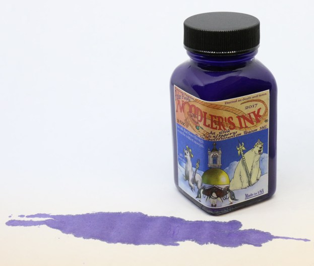 Noodlers Polar Purple Ink Bottle