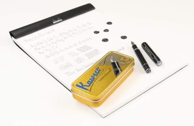 Kaweco AL Sport Fountain Pen with Notepad