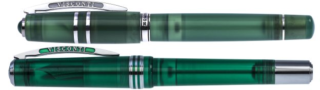 Visconti Homo Sapiens Jade and Northern Lights Pens