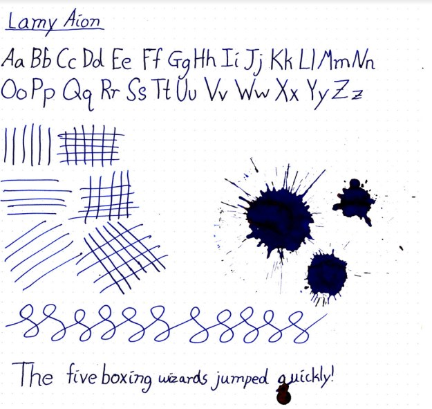 Lamy Aion Fountain Pen Review
