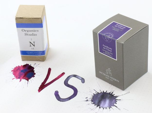 Sheen vs Shimmer Inks
