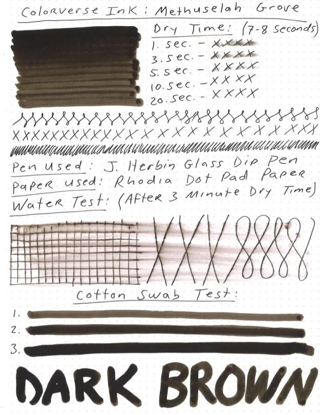 Colorverse Wisdom of Trees Methuselah Grove Ink Review