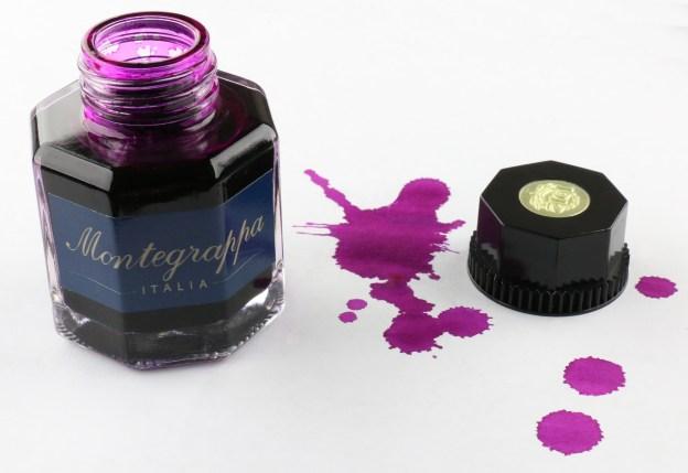 Montegrappa Fushcia Ink Bottle
