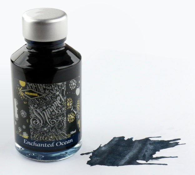 Diamine Enchanted Ocean Shimmering Ink Bottle