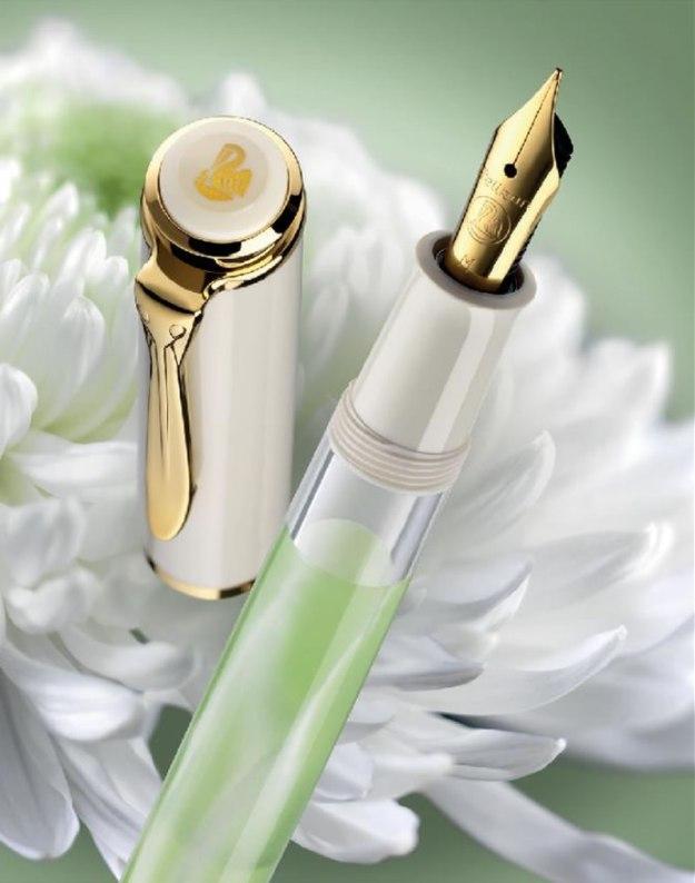 M200 Pelikan Pastel-Green Fountain Pen
