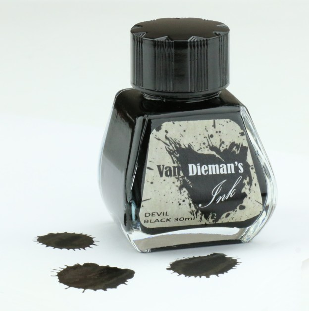 Van Dieman's Devil Black Ink