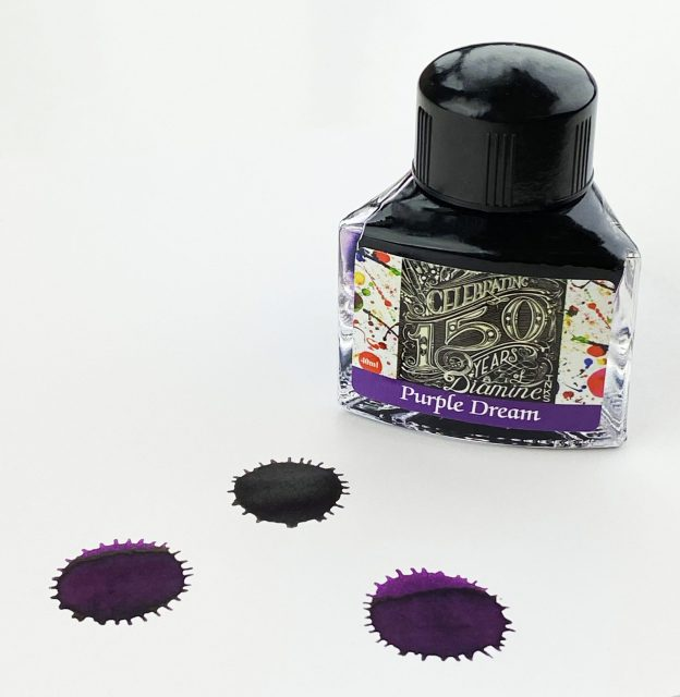 150th Anniversary Diamine Purple Dream Ink Review and Giveaway