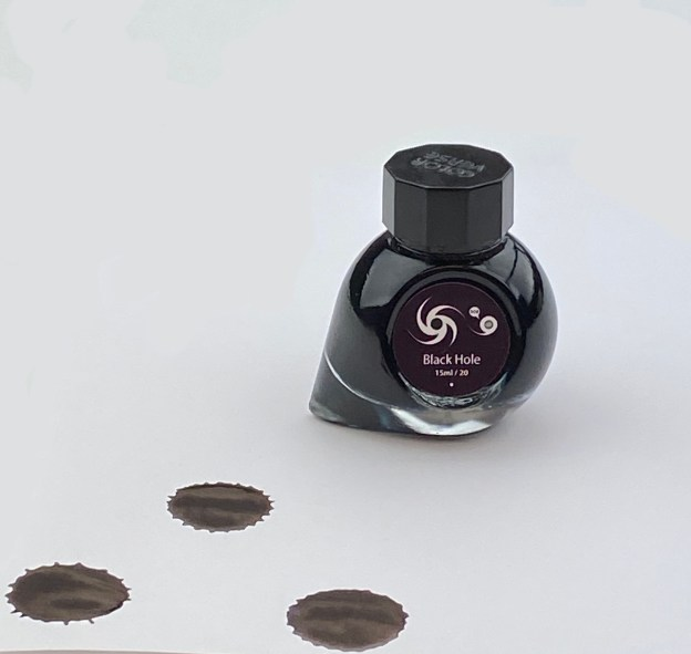 Colorverse Black Hole Ink Review and Giveaway with Pen Chalet