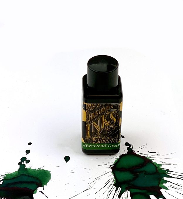 diamine sherwood forest ink review and giveaway