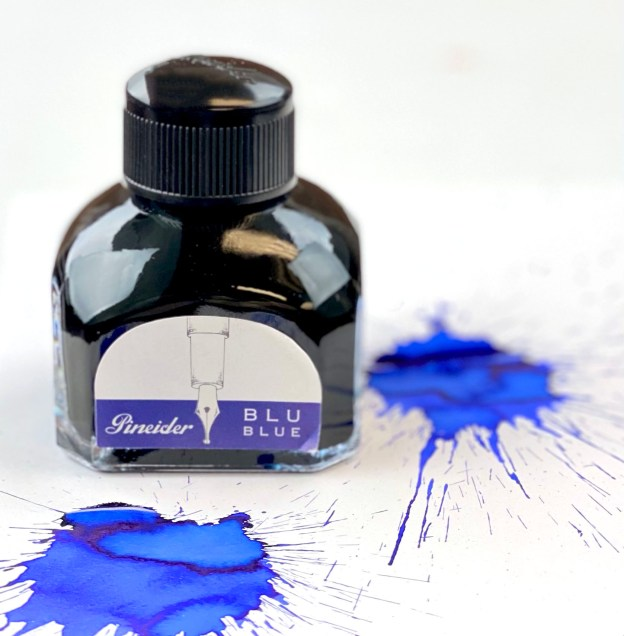 Pineider Blue ink review and giveaway