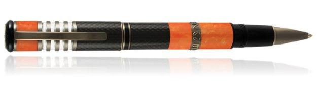 Delta Momo 30th Anniversary Rollerball Pen in Orange