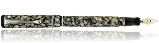 Conklin Duragraph Fountain Pen in Cracked Ice
