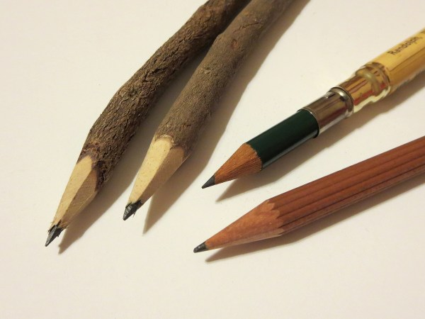 Evolution Of Pencil. Pencil Revolution