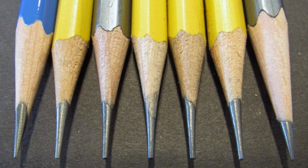 3 Sharpened Pencils