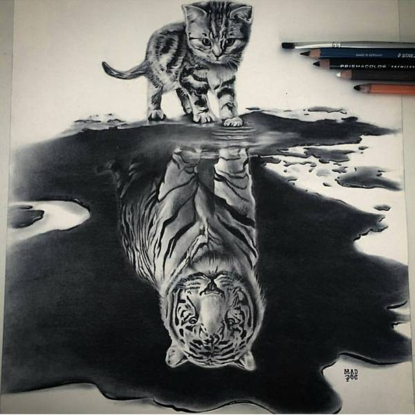 9 Cool Pencils Drawings Daily Artistiq - Sketches